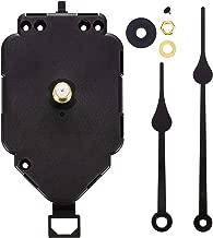 Hicarer Pendulum Clock Movement Replacement Long Shaft Pendulum Quartz Clock Movement Mechanism (Shaft Length 9/10 Inch/ 23 mm)