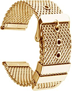 Replacement Milanese Watch Band 18mm 20mm 22mm 24mm Stainless Steel Metal Watch Straps Bracelet for Men Women