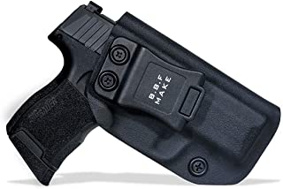 B.B.F Make IWB KYDEX Holster Fit: Sig Sauer P365 / P365 SAS | Retired Navy Owned Company | Inside Waistband | Adjustable Cant | US KYDEX Made