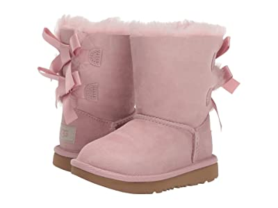 UGG Kids Bailey Bow II (Toddler/Little Kid) (Pink Crystal) Girls Shoes