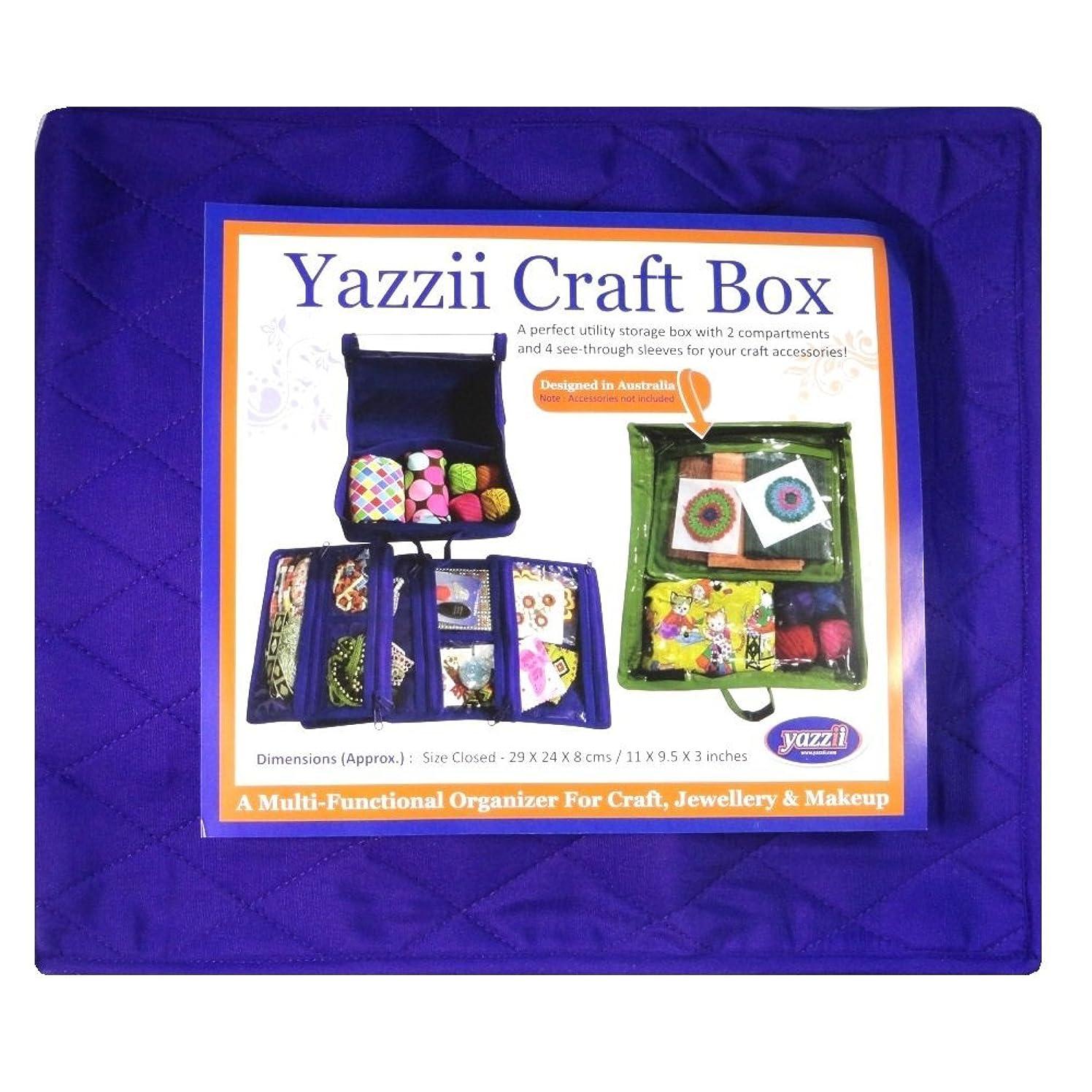Yazzii CA 470 P Craft Box Clear Top Organizer