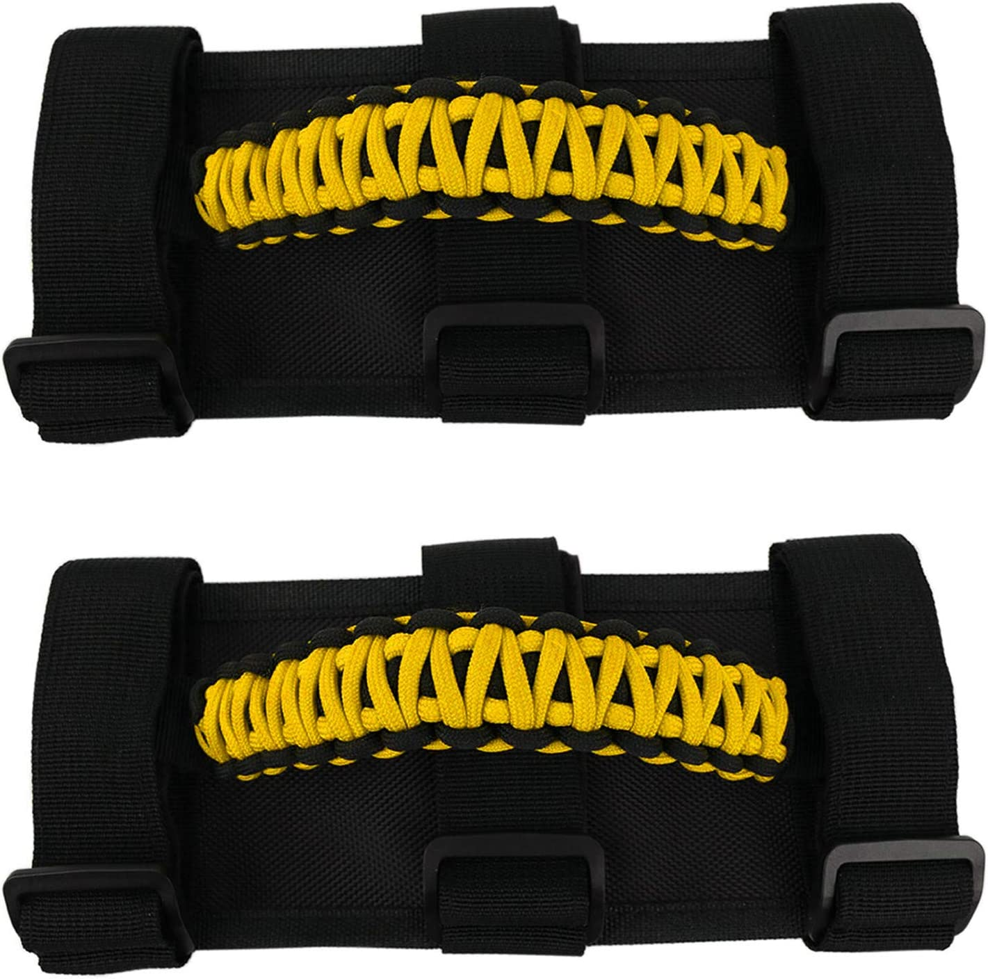 Jade Onlines In a popularity 2 Pcs Roll Bar Paracord San Diego Mall Grab f Handles Grip