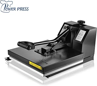 PowerPress Industrial-Quality Digital Sublimation Heat Press Machine for T Shirt,..