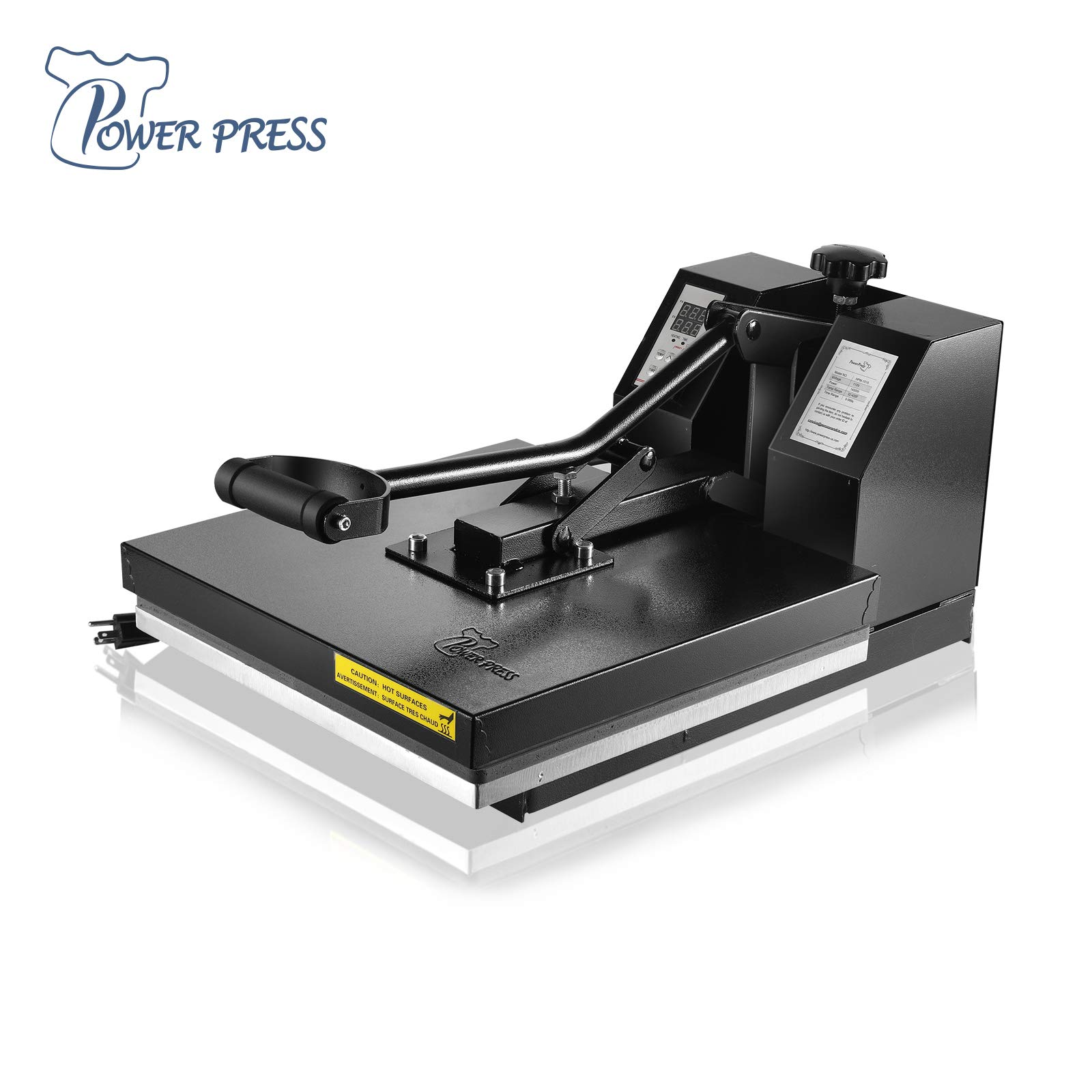 PowerPress HPM 1515 BK Industrial Quality Digital Sublimation