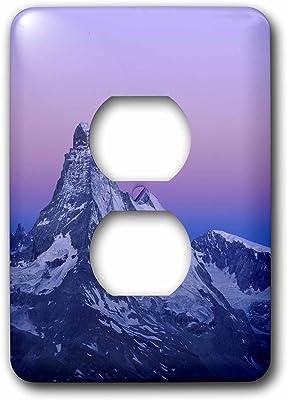 Wa 2 Plug Outlet Cover Multicolor Reflection Lake Mt Rainier Np 3dRose lsp/_95847/_6 Sunrise