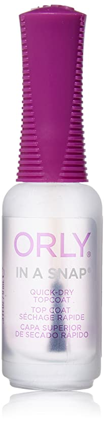 Orly Nail Treatments - In-A-Snap Quick Dry - 0.3oz / 9ml