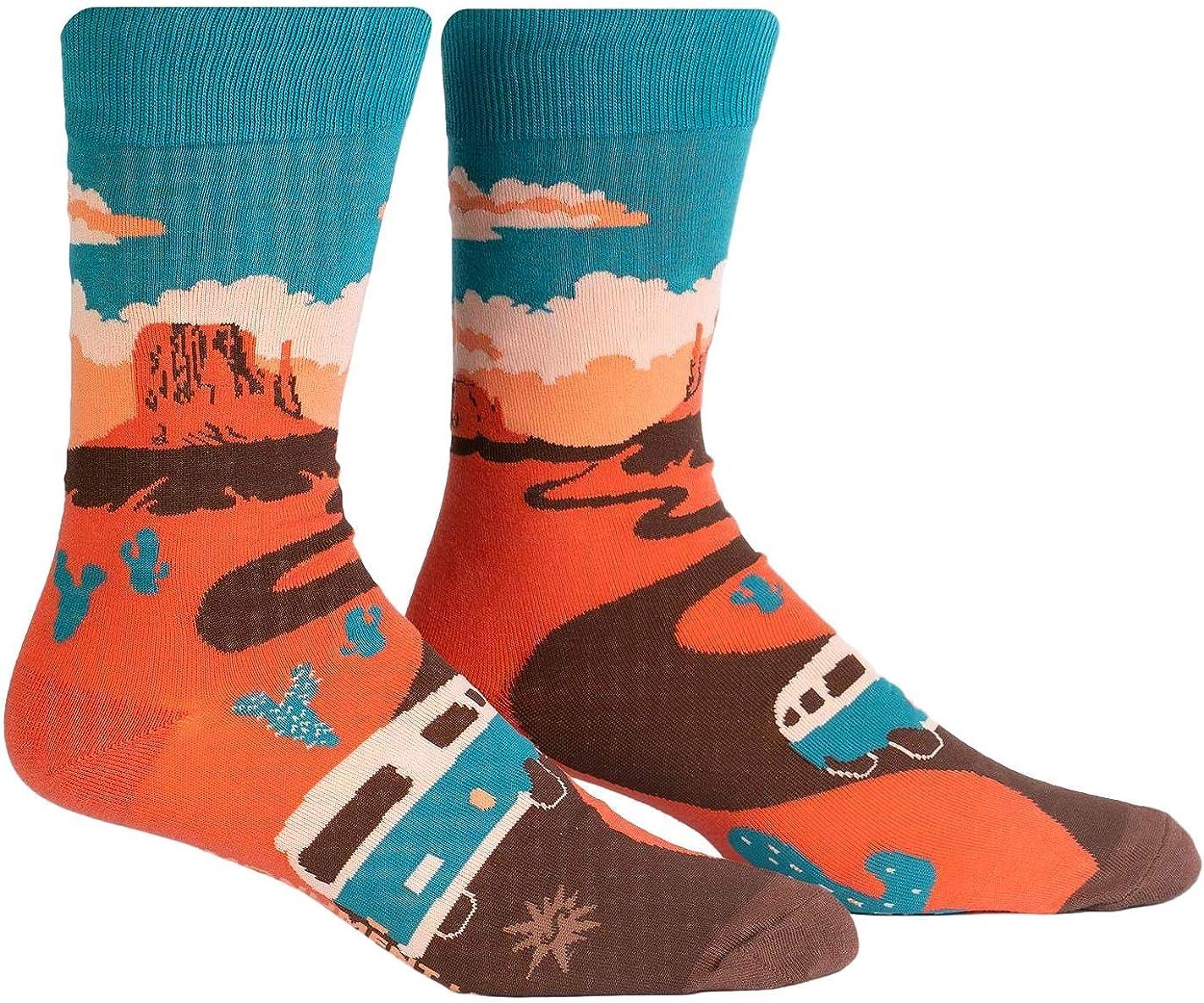 Sock It To Me Men's Crew National Park Socks