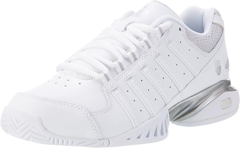 K-Swiss Receiver III Women's Tennis shoes White Silver
