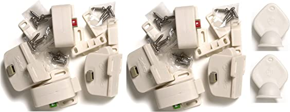Safety 1st Tot-Lok Deluxe Starter Kit (8 Locks & 2 Keys)