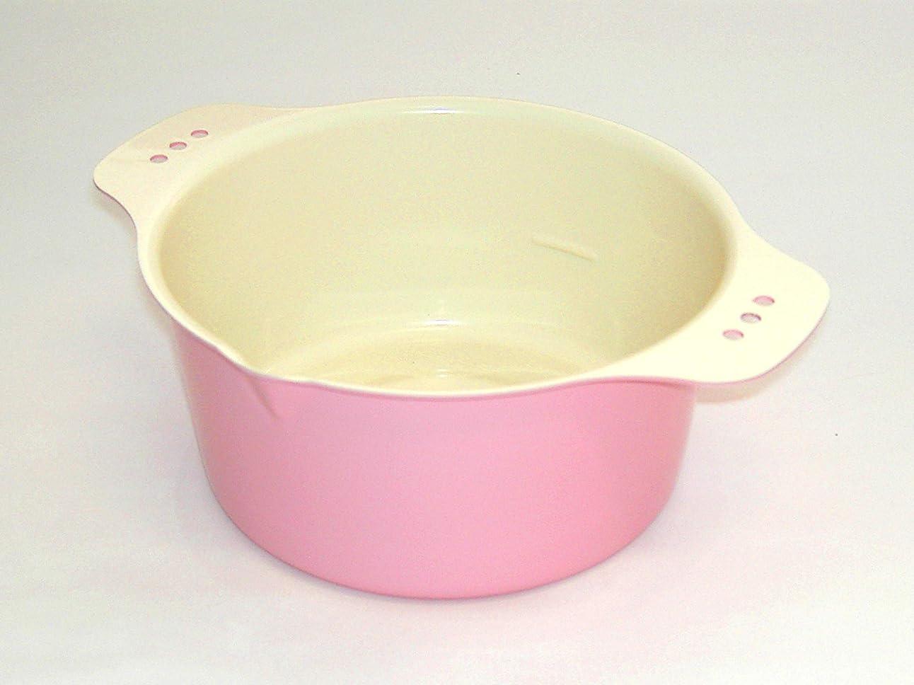 モード対処する体細胞天ぷら鍋 ちょい揚げ ピンク