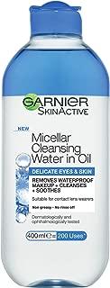 Garnier SkinActive Micellar Cleansing Water in Oil Delicate Eyes & Skin 400ml
