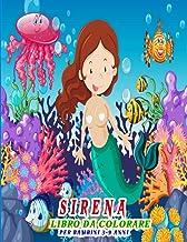 Sirena Libro da colorare per bambini 3-9 anni: Libro da colorare sirene per bambini ragazzi e ragazze | Regalo divertente ...