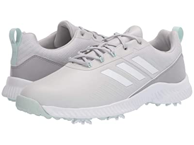 adidas Golf Response Bounce 2 (Grey Two/Grey Three/Dash Green) Women