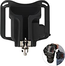 Camera Belt Clip Waist Belt Holster Holder Shoulder Strap Buckle Button,DSLR Camera Hanger Fast Loading for Sony/Canon/Nikon/Olympus/Fuji