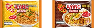 Wang Ramen Spicy Veg & Chicken Noodles (Pack of 30)