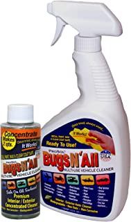 Bugs N All – Best All Purpose Interior & Exterior Vehicle Cleaner & Bug..