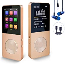 $24 » Mp3 Player, Hotechs Hi-Fi Sound, with FM Radio, Recording Function Build-in Speaker Expandable Up to 64GB with Noise Isola...