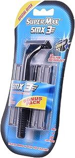 Supermax Men Razor Triple Blade, 10 Cartridges 1 Units