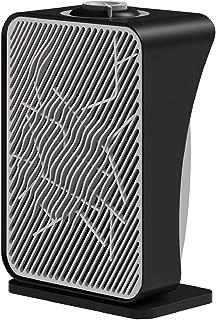 Ardes AR4F06 - Calefactor (Calentador de ventilador, IPX0, Interior, Piso, Mesa, Negro, Plata, Giratorio)