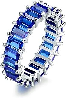 blue sapphire ring mens