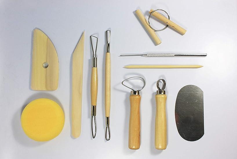 Sargent Art 57-0002 Sculpting Tool Set, Natural 12 Piece