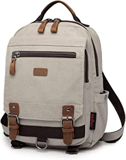 Sponsored Ad - Canvas Sling Bag - Small Crossbody Backpack Shoulder Casual Daypack Rucksack for Men Women Outdoor Cycling ...