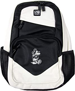 Loungefly Mickey Mouse Taupe Nylon Backpack (Taupe, One_Size)
