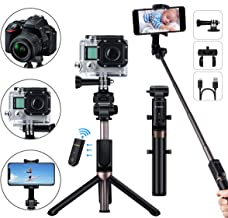 Best selfie rod with bluetooth wireless remote price Reviews
