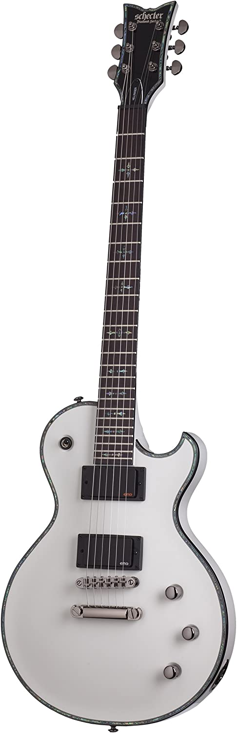 Schecter 1779 Solid-Body Electric Ranking TOP10 Guitar White Gloss Rare