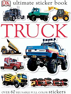 Ultimate Sticker Book: Truck: Over 60 Reusable Full-Color Stickers