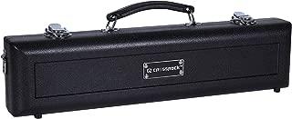 Crossrock Molded C Foot Flute Case, Black (CRA860FLBK)