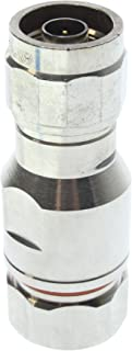 Amphenol S4WNM-U Type-N Straight Plug Connector, 50-Ohm, 1/2-Inch, Bronze