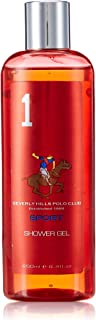 Beverly Hills Polo Club Sports Shower Gel for Men, No 1, 250ml