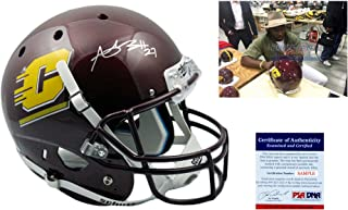 Antonio Brown Signed Central Michigan Full Size Helmet - PSA/DNA Autographed