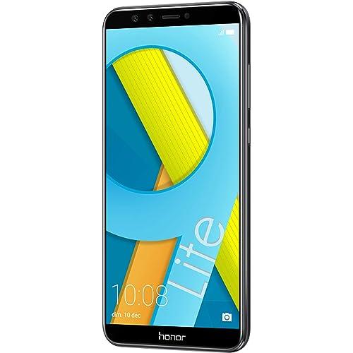 Honor 9 Lite Smartphone débloqué 4G (Ecran : 5,65 pouces - 64 Go - Nano-SIM - Android) Noir [Version française]