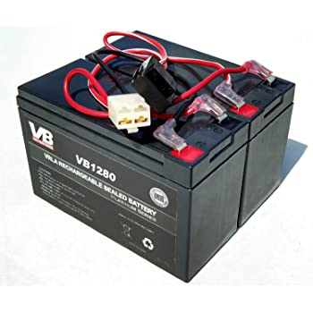 [SCHEMATICS_48ZD]  Amazon.com: Razor 12 Volt 7Ah Electric Scooter Batteries High Performance -  Set of 2 Includes New Wiring Harness: Electronics | 12 Volt Battery Wiring Harnesses |  | Amazon.com