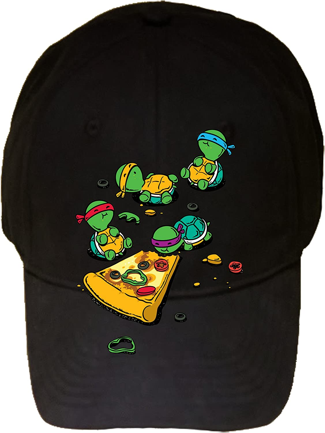 New mail order Pizza Lover TV Show Detroit Mall Cartoon Movie w 100% - Turtles Eating Adjust