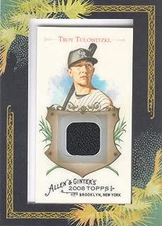 2008 Topps Allen & Ginter Baseball Relic #AGR-TT Troy Tulowitzki JERSEY Rockies