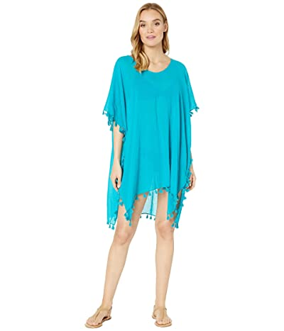Seafolly Amnesia Kaftan Cover-Up (Eden) Women