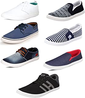 SCATCHITE Pack of 7 Footwear Shoes & Sneakers & Loafers & Moccasins & Casual Shoes