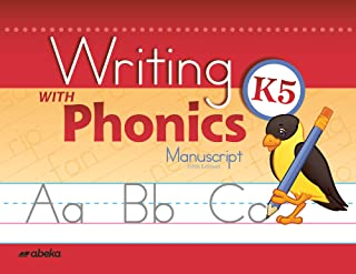 Writing with Phonics K5 Manuscript