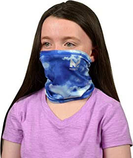 Mission Cooling Youth Neck Gaiter 6+ Ways To Wear, Face Mask, UPF 50, Cools when Wet