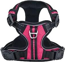 PUPTECK Best No-Pull Dog Harness with Vertical Handle,Calming Adjustable Reflective Outdoor Adventure Pet Vest