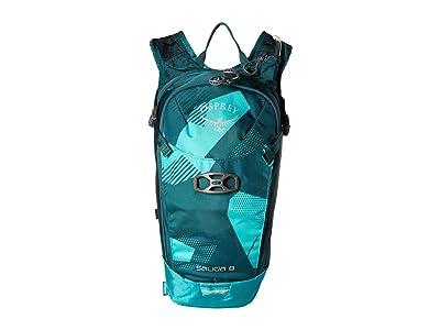 Osprey Salida 8 (Teal Glass) Backpack Bags