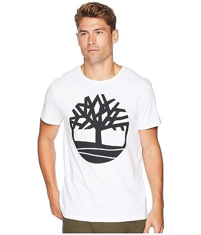 Timberland Short Sleeve Seasonal Logo Tee (White Tree) Men