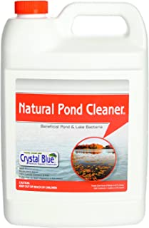 Crystal Blue Natural Pond Cleaner - Muck and Sludge Remover, Safe for Koi - 1 Gallon