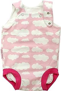 Kleine Könige Baby Strampler Mädchen Sommer Baby Body  Modell Wolkenreich rosa pink  Ökotex 100 zertifiziert  Größen 50-92