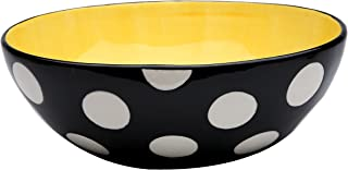 polka dot serving bowls