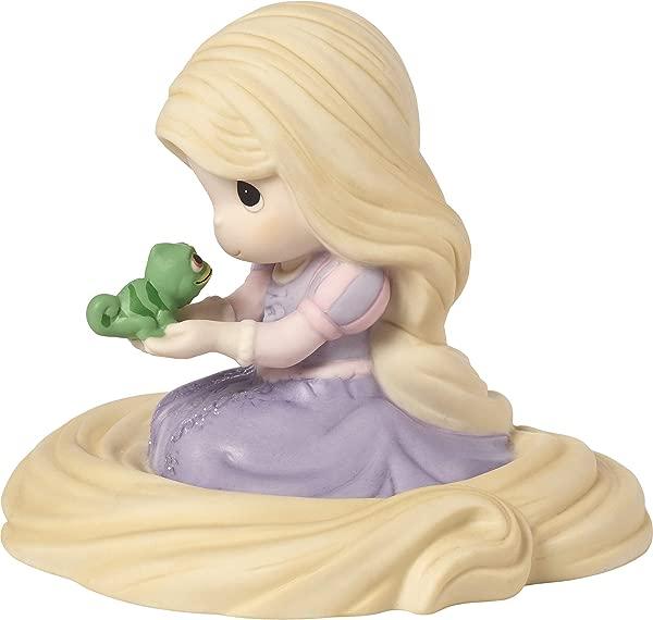 Precious Moments Disney Showcase Collection Don T Ever Change Rapunzel Bisque Porcelain 183073 Figurine One Size Multi