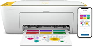 HP DeskJet 2732 Wireless All-in-One Compact Color Inkjet Printer - Instant Ink Ready, Marigold 5AR85A (Renewed)